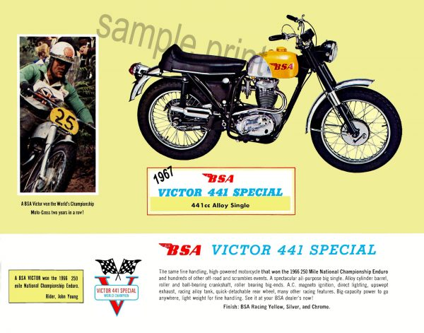 1967- Victor 441 Special-11×14-feature